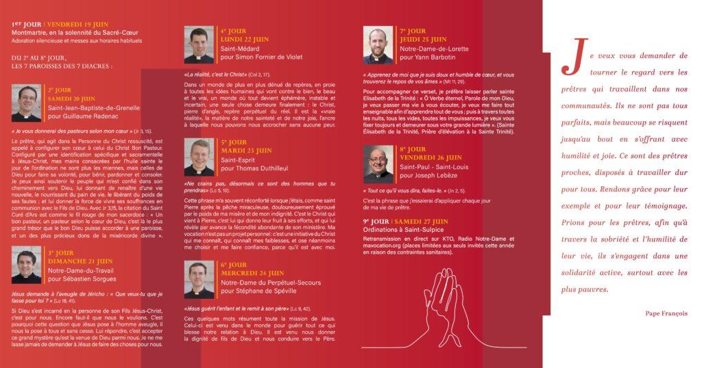 Dépliant neuvaine pour les futurs prêtres 2020.2